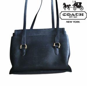 Vintage Coach Cowhide Leather Purse/Shoulder Bag